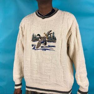 Vintage Shenandoah duck sweater